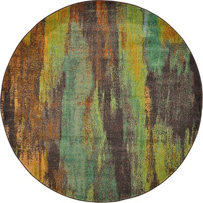 Aquarius Multi Area Rug Rug Size: Round 6'