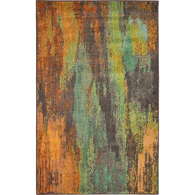 Aquarius Multi Area Rug Rug Size: 5' x 8'