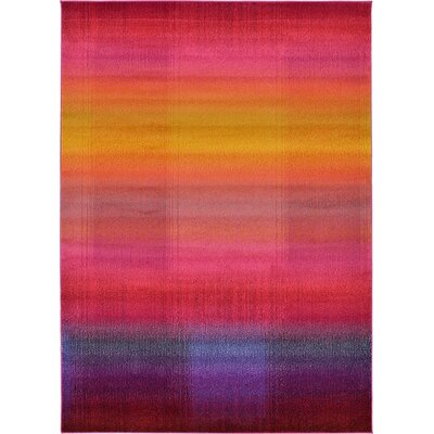 Aquarius Multi Area Rug Rug Size: Rectangle 7 x 10