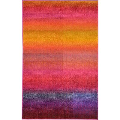 Aquarius Multi Area Rug Rug Size: Rectangle 33 x 53