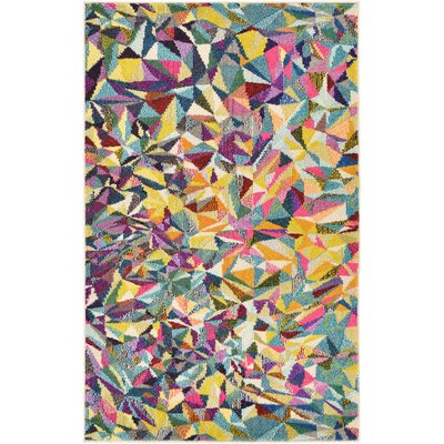 Aquarius Multi Area Rug Rug Size: 3'3