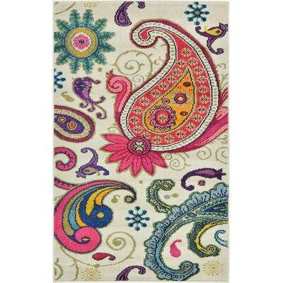 Aquarius Area Rug Rug Size: 106 x 165