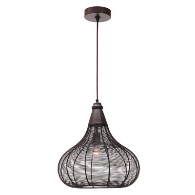 Chappel 1-Light Pendant Finish: Oil Rubbed Bronze