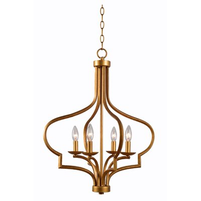 Heady 4-Light Foyer Pendant