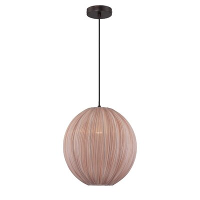 Juhi 1-Light Globe Pendant