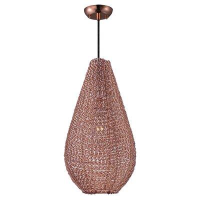 Camile 1-Light Mini Pendant Finish: Copper