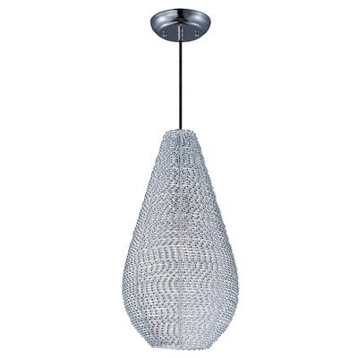 Zeyla 1-Light Mini Pendant Finish: Polished Chrome