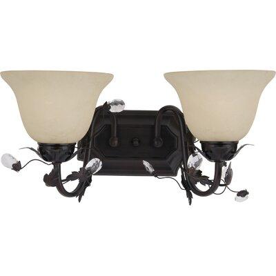 Tasia 2-Light Vanity Light