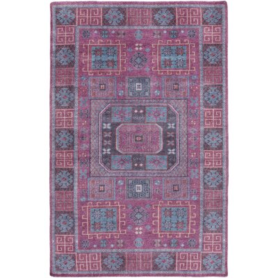 Heidi Purple/Pink Area Rug Rug Size: 9 x 13