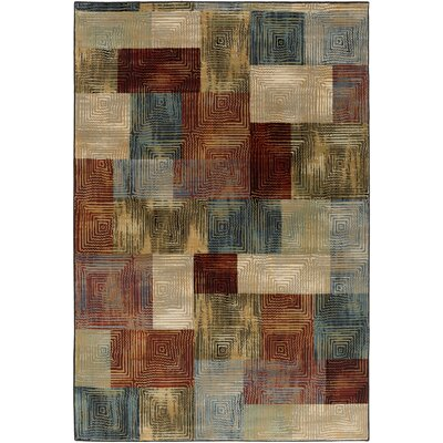 Argentine Teal Area Rug Rug Size: Rectangle 27 x 47