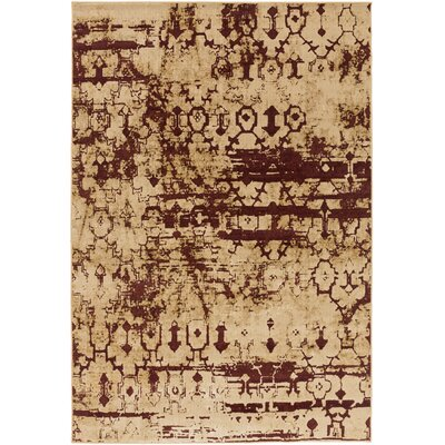 Argentine Beige Area Rug Rug Size: Rectangle 53 x 73