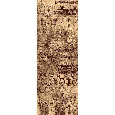 Argentine Beige Area Rug Rug Size: Runner 27 x 73
