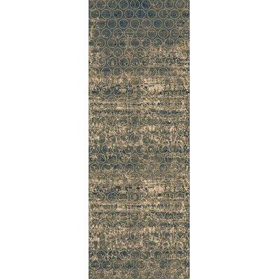 Argentine Olive Area Rug Rug Size: Runner 27 x 73