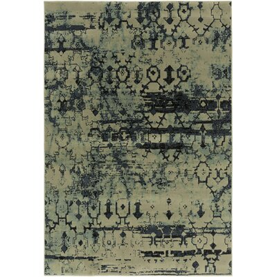 Argentine Black Area Rug Rug Size: Rectangle 53 x 73
