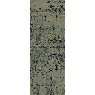 Argentine Black Area Rug Rug Size: Runner 27 x 73