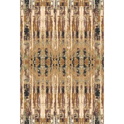 Bowman Hand-Knotted Area Rug Rug size: Rectangle 6 x 9