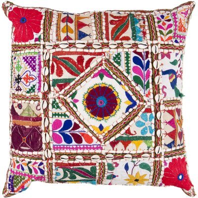 Anwar Throw Pillow Cover Size: 22 H x 22 W x 0.25 D
