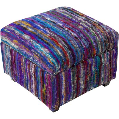Hesperange Storage Ottoman Finish: Purple