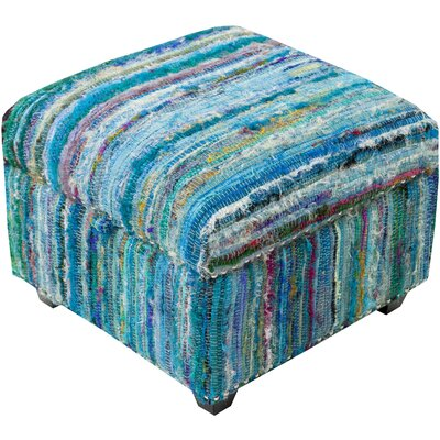 Hesperange Storage Ottoman Finish: Blue