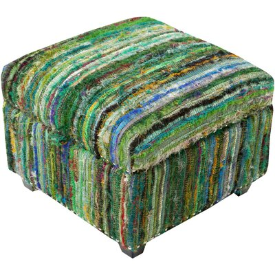 Hesperange Storage Ottoman Finish: Green