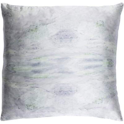 Antram Silk Pillow Cover Size: 18 H x 18 W x 1 D, Color: Gray/Neutral