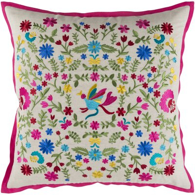 Cayson Pillow Cover Size: 18 H x 18 W x 1 D