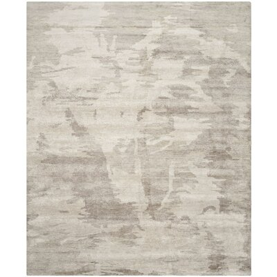 Argus Hand-Knotted Silver Area Rug