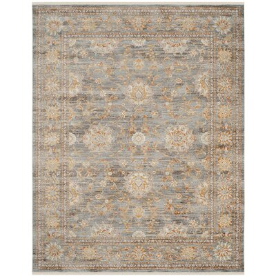 Aronwold Light Brown/Multi-Colored Area Rug Rug Size: Rectangle 6 x 9