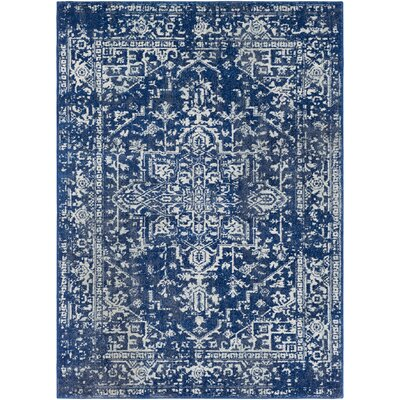 Hillsby Geometric Blue Area Rug Rug Size: Rectangle 710 x 103