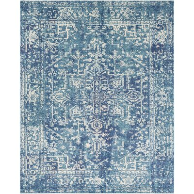 Hillsby Blue Area Rug Rug Size: Rectangle 2 x 3