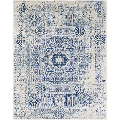 Hillsby Blue/Beige Area Rug Rug Size: Rectangle 710 x 103