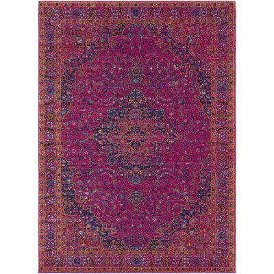 Hillsby Tibetan Pink Area Rug Rug Size: Rectangle 2 x 3
