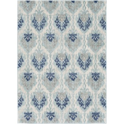Andover Blue Area Rug Rug Size: Rectangle 53 x 73