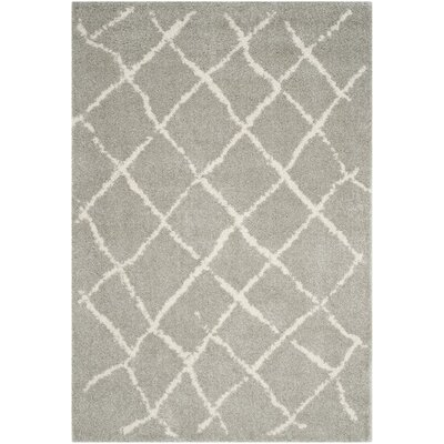 Zettie Light Gray/Cream Area Rug