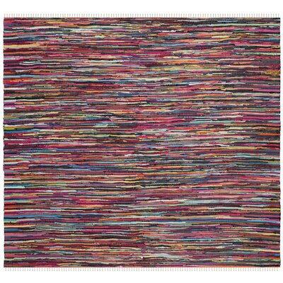 Samaniego Hand-Woven Area Rug Rug Size: Square 6'