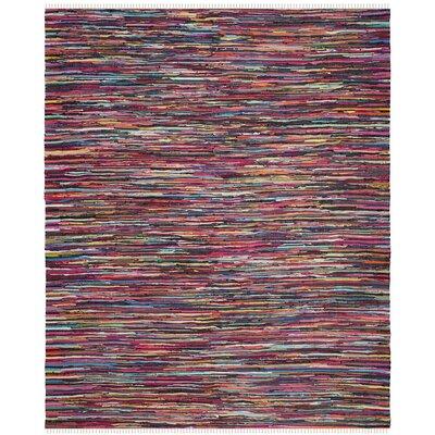 Samaniego Hand-Woven Area Rug Rug Size: 5 x 8