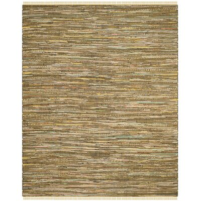 Nessadiou Hand-Woven Yellow/Multi Area Rug Rug Size: Rectangle 4 x 6