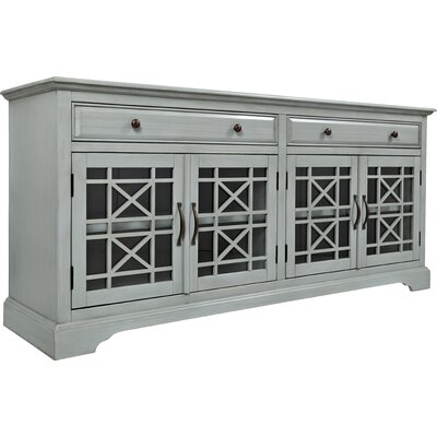 Hubert 70 TV Stand Color: Gray