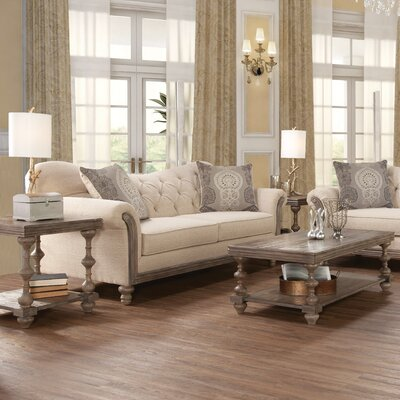 Serta Upholstery Vox 3 Piece Coffee Table Set