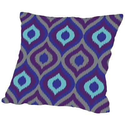 Alverda Curvy Ikat Throw Pillow Size: 20 H x 20 W x 2 D