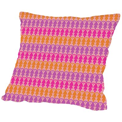 Amaral Indian Throw Pillow Size: 14 H x 14 W x 2 D