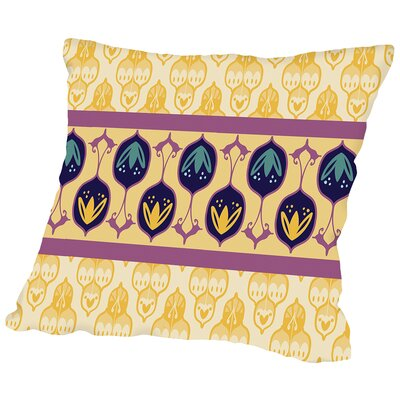 Amity Turkish Striped Cara Kozik Throw Pillow Size: 14 H x 14 W x 2 D