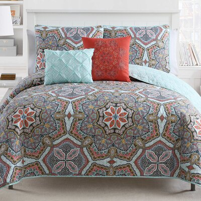 Althouse Reversible Quilt Set Size: King