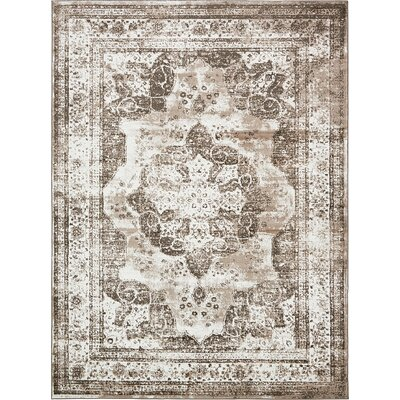 Ford Light Brown Area Rug Rug Size: 9 x 12