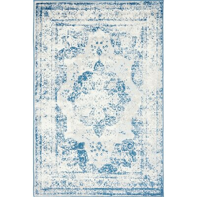 Ford Blue Area Rug Rug Size: 5 x 8