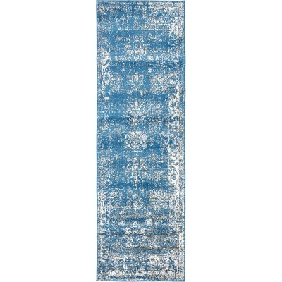 Ford Blue Area Rug Rug Size: 8 x 10