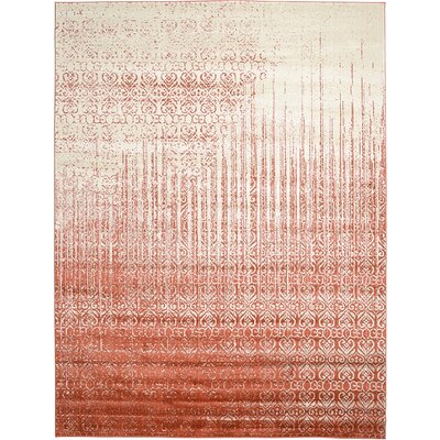 Kadar Red Area Rug Rug Size: Square 8