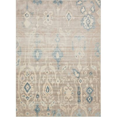 Mellal Dark Gray Area Rug Rug Size: Rectangle 9 x 12