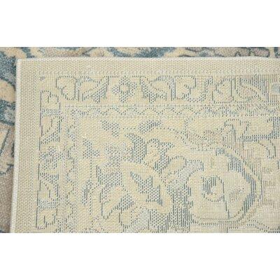 Mellal Gray Area Rug Rug Size: 8 x 10
