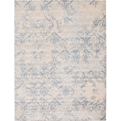 Mellal Blue Area Rug Rug Size: Rectangle 122 x 16